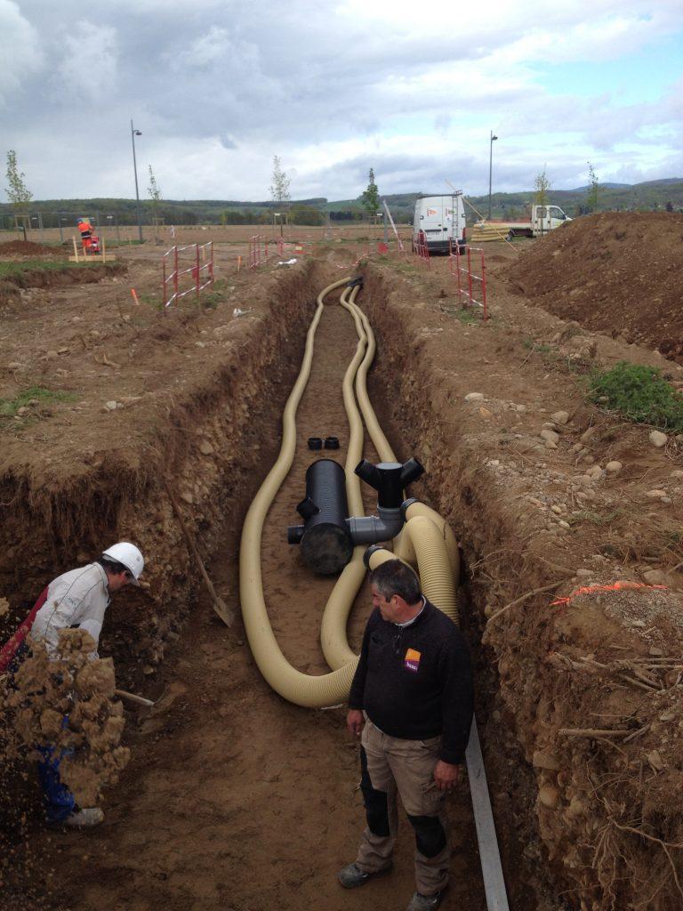 puits canadien installation