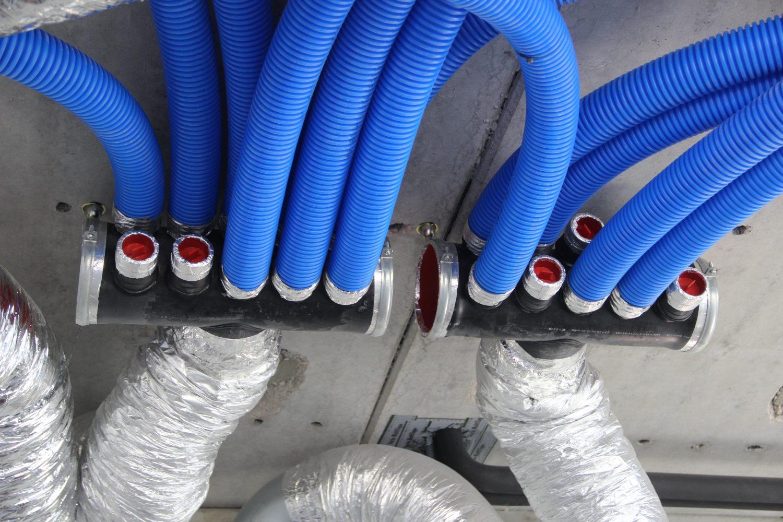 conduits intérieur pour ventiler